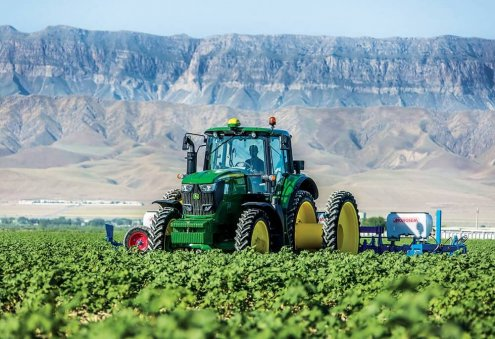 Turkmen Agricultural Companies Purchase John Deere Machinery