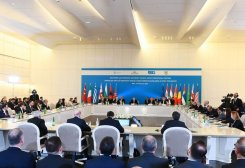 Turkmen Presidential Advisor Attends Ministerial Meeting on Southern Gas Corridor