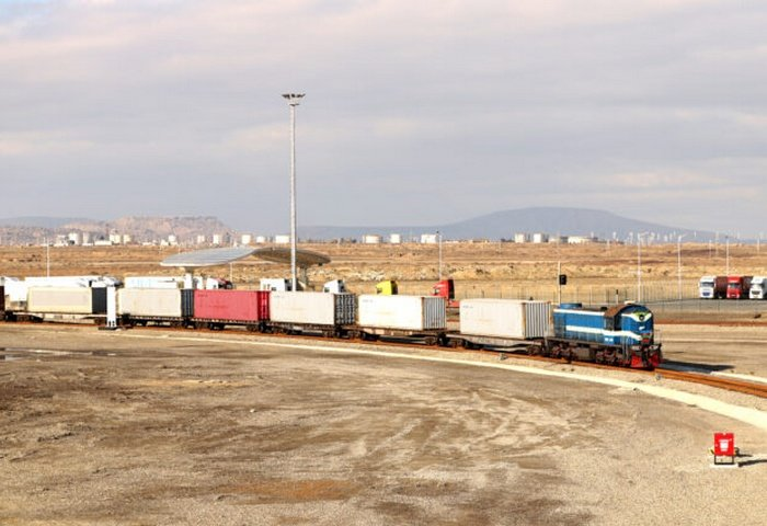 Baku-Tbilisi-Kars Railway Transports 15,000th Container
