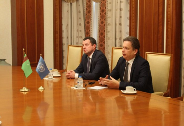 Turkmen Customs Service, UNCTAD Vow to Continue Cooperation