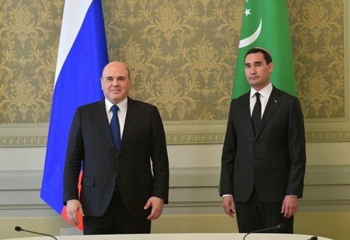 Russia Aims to Boost Bilateral Ties With Turkmenistan  Mishustin