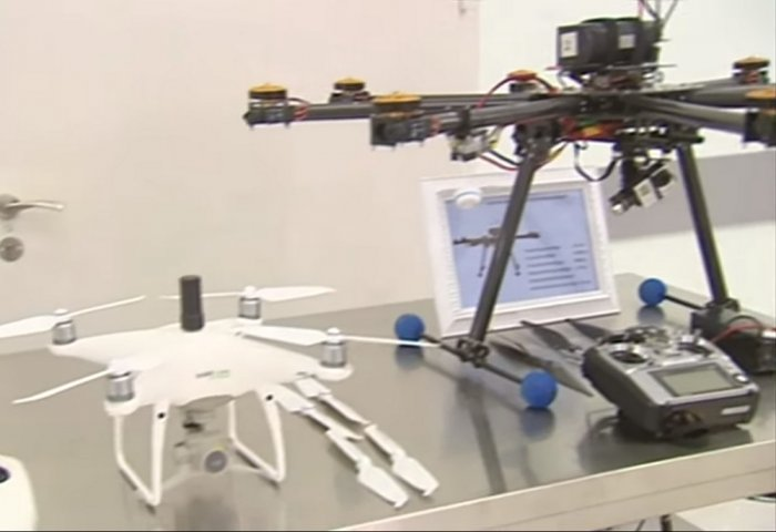 Turkmen President Visits Unmanned Aerial Vehicles Center