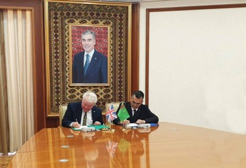 Turkmenistan, UK Sign Memorandum of Understanding on Sustainable Economic Development