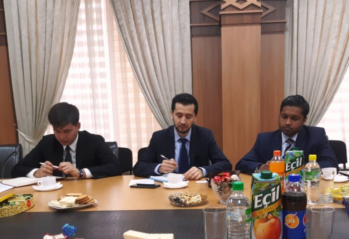 UIET Hosted Meeting With Islamic Finance Corporation Officials
