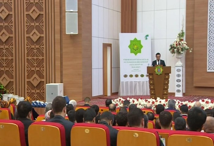 UIET Board Members Elected at Conference of Turkmen Private Sector