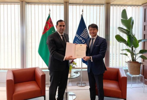 Turkmenistan Joins WIPO's Patent Law Treaty