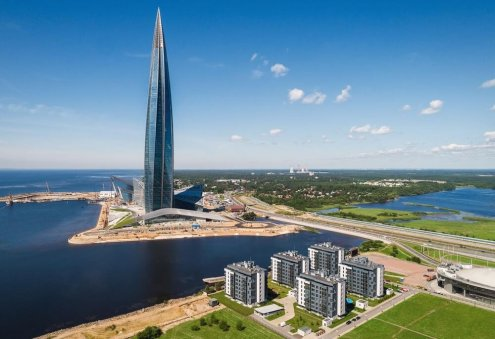 Russia's Lakhta Center Named 'Skyscraper of the Year'