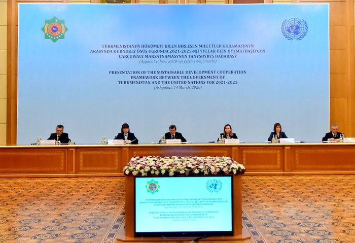 Turkmenistan, UN Sign Sustainable Development Cooperation Framework for 2021-2025