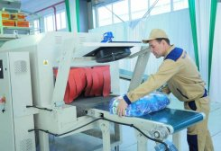 Turkmen Cleaning Products Manufacturer Launches Production of New Detergents