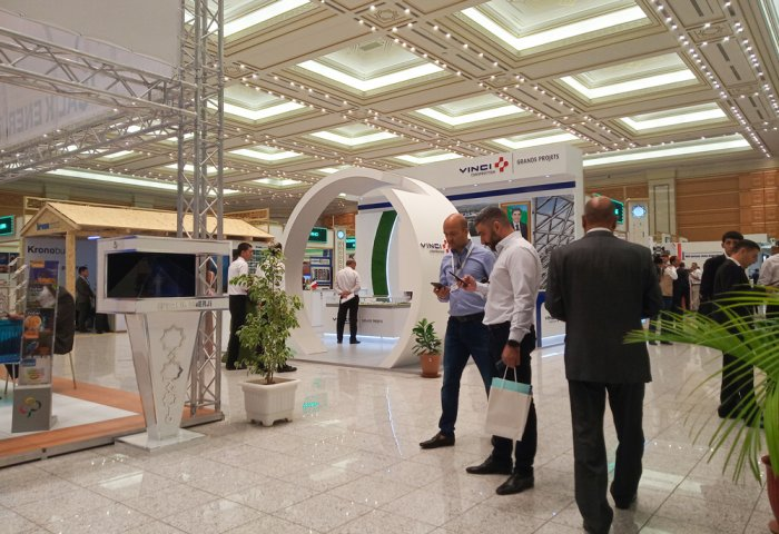 Construction Exhibition Kicks Off in Ashgabat