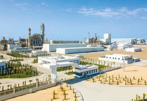 Turkmenistan's Garabogazkarbamid Plant Increases Urea Output