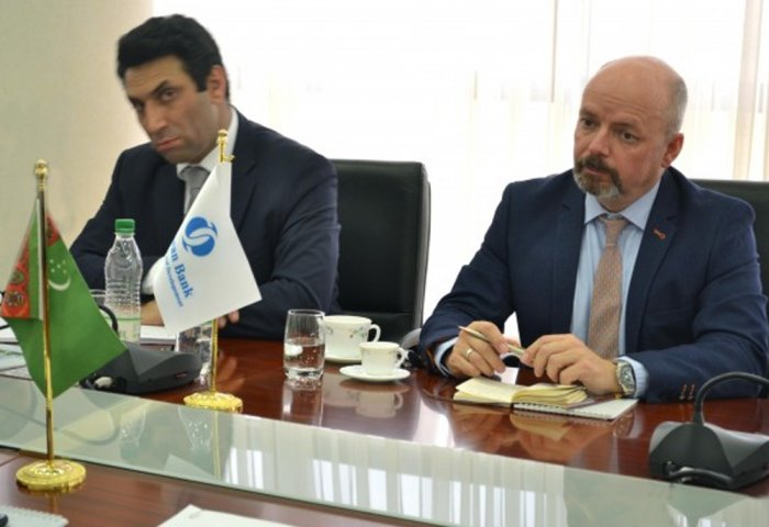 New EBRD Representative in Ashgabat Attends Meeting at Foreign Ministry