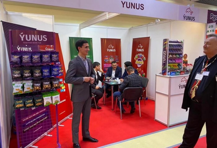 Turkmenistan's Altyn Ýunus Increases Export of Its Confectionery Products