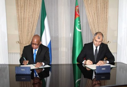 Turkmenistan Establishes Diplomatic Relations With Sierra Leone