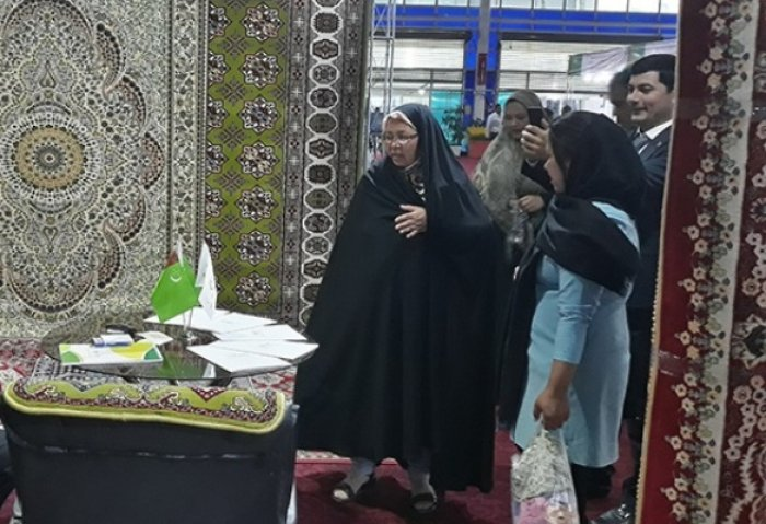 Iran Hosted Exhibition of Products Made in Turkmenistan's Ahal Province