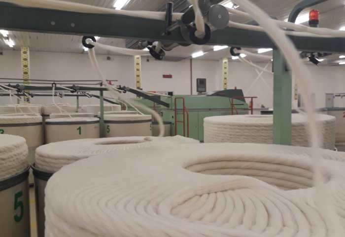 Turkmenabat Cotton Spinning Factory Sells Nearly 100% of Products