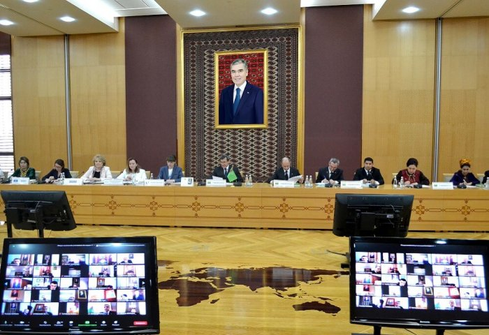 Ashgabat Holds Briefing on Fight Against COVID-19
