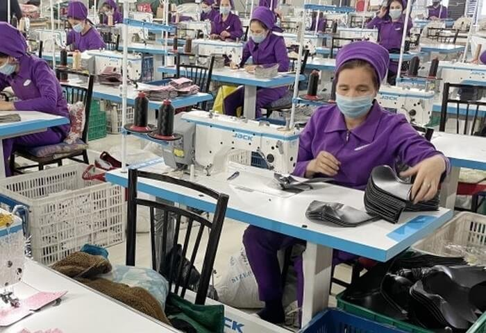 EBRD Helps Turkmen Company Launch Production of Trainers, Wellington Boots