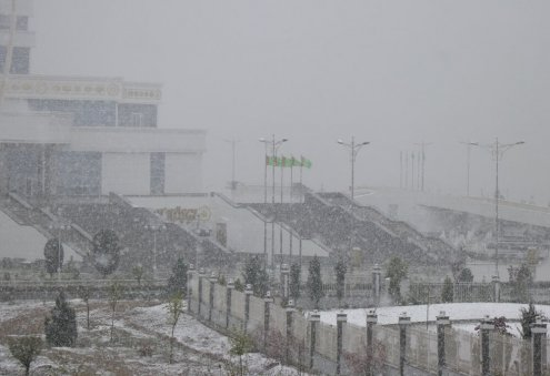Cold Weather Expected to Return to Turkmenistan