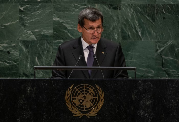 Turkmen Delegation Attended UN General Assembly in New York