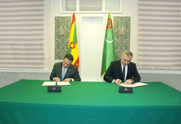 Turkmenistan Establishes Diplomatic Relations With Grenada